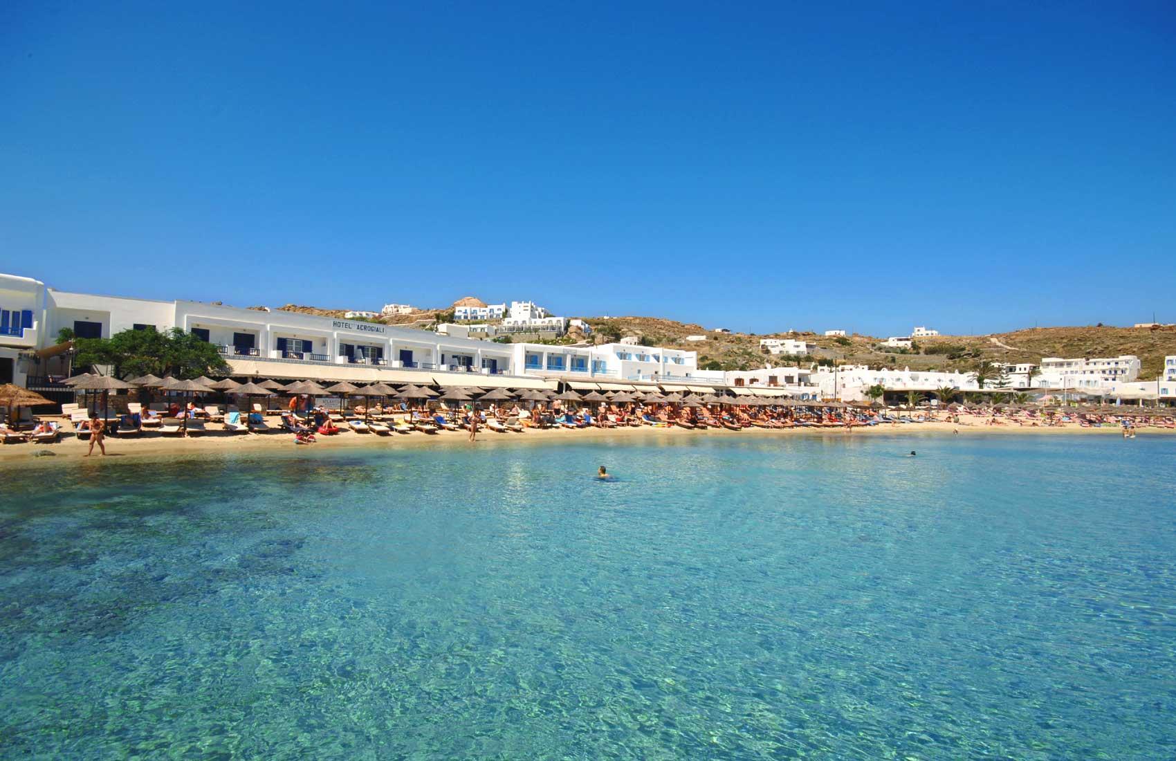 Остров миконос mykonos греция