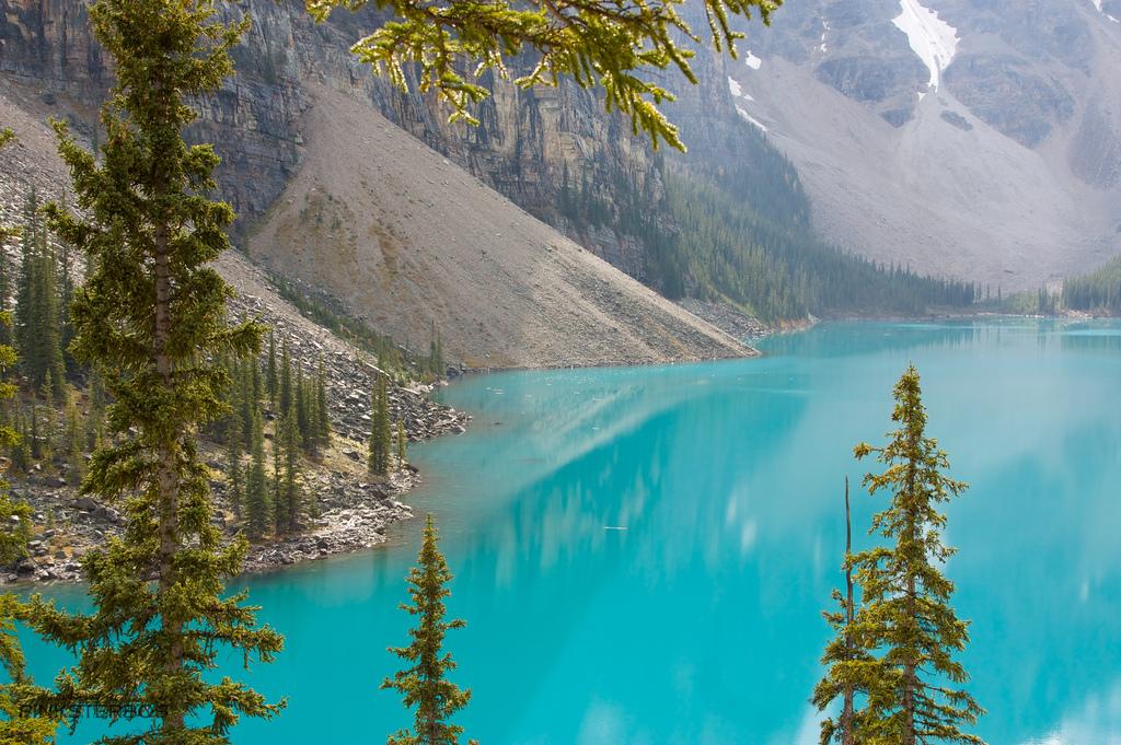 Озеро морейн lake moraine канада