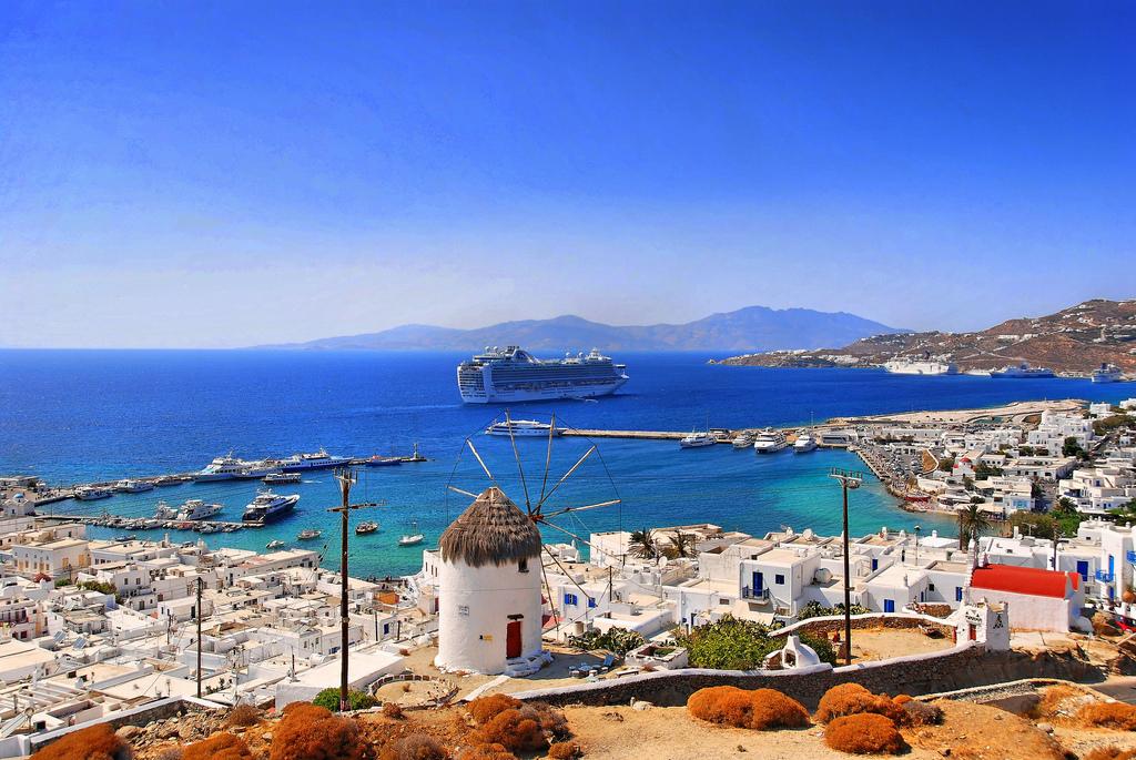остров Mykonos