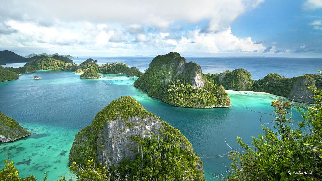 острова Raja Ampat,